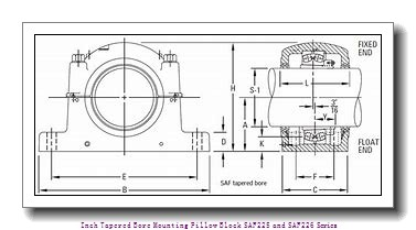 timken FSAF 22517 2-7/8 Inch Tapered Bore Mounting Pillow Block SAF225 and SAF226 Series