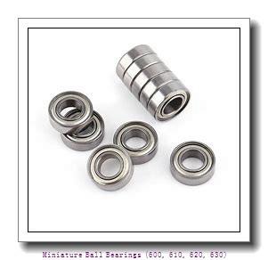 8 mm x 22 mm x 7 mm  timken 608-ZZ-C3 Miniature Ball Bearings (600, 610, 620, 630)