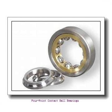 30 mm x 62 mm x 16 mm  skf QJ 206 N2MA four-point contact ball bearings