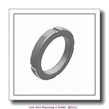 skf HM 31/710 Lock nuts requiring a keyway (metric)
