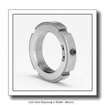 skf KM 31 Lock nuts requiring a keyway (metric)