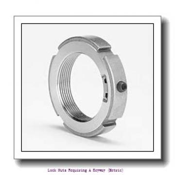 skf KM 7 Lock nuts requiring a keyway (metric)
