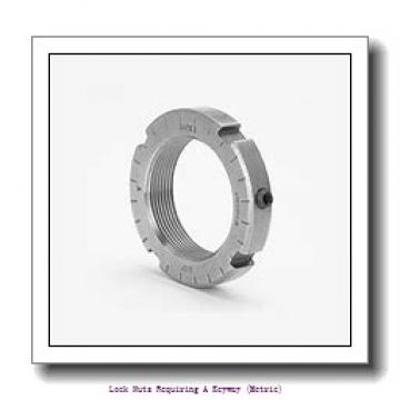 skf KM 21 Lock nuts requiring a keyway (metric)