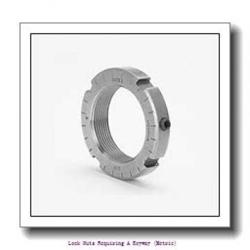 skf KM 33 Lock nuts requiring a keyway (metric)