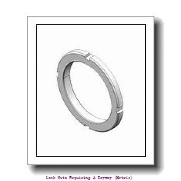 skf HM 3168 Lock nuts requiring a keyway (metric)