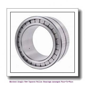 skf 31324 X/DF Matched Single row tapered roller bearings arranged face-to-face