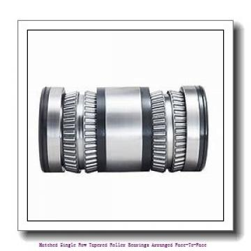 skf 32210/DF Matched Single row tapered roller bearings arranged face-to-face