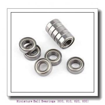 timken 637-2RS Miniature Ball Bearings (600, 610, 620, 630)