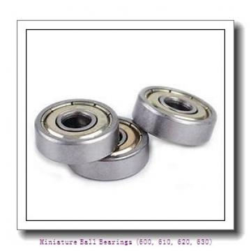 timken 619/6-2RZ Miniature Ball Bearings (600, 610, 620, 630)