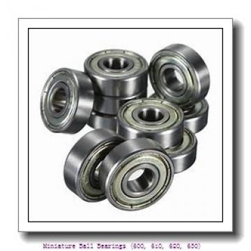 timken 634-2RS Miniature Ball Bearings (600, 610, 620, 630)