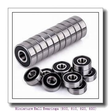 timken 618/3-2RZ Miniature Ball Bearings (600, 610, 620, 630)