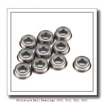 timken 635-2RZ Miniature Ball Bearings (600, 610, 620, 630)